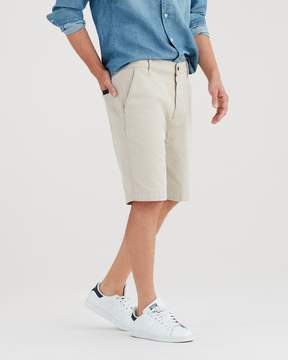 7 For All Mankind Total Twill Chino Short in White Onyx