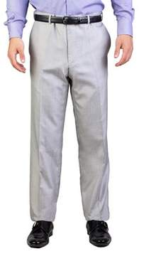 Christian Dior Men's Silk Slim Fit Trouser Pants Light Grey.