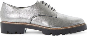 Dune Furne metallic lace-up shoes