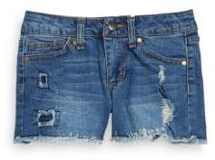 Joe's Jeans Girl's Distressed Jean Shorts