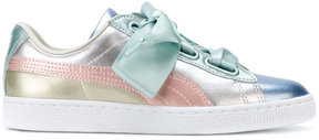Puma pearlescent lace-up sneakers