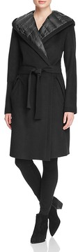 Dawn Levy Paige Down-Lined Wrap Coat