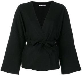 Barena belted fitted jacket
