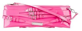 Burberry Buckle Accented Shoulder Bag - PINK - STYLE