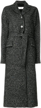 Damir Doma striped button coat