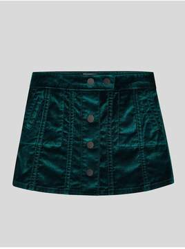 DL1961 Kids Kids | Jenny Skirt | Green Velvet | 12 years | Green velvet