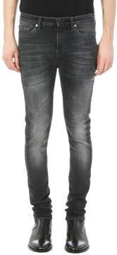 Neil Barrett Grey Denim Vintage Jeans