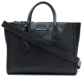 Prada square shaped shoulder bag