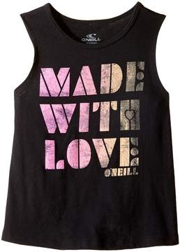 O Made With Love Rylee Tank Top (Toddler/Little Kids)