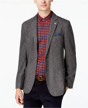 Ben Sherman Men's Slim-Fit Gray Herringbone Sport Coat