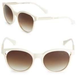 Balmain 55MM Wayfarer Sunglasses