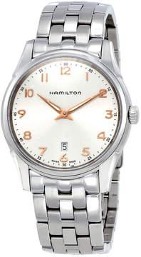 Hamilton Jazzmaster Thinline Silver Dial Stainless Steel Men's Watch