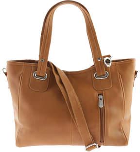 Piel Leather Open Tote/Cross Body Bag 3046 (Women's)