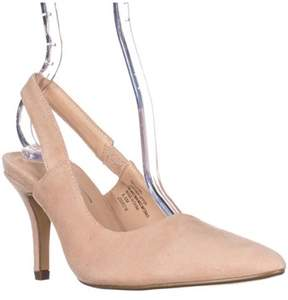 Nanette Lepore Sally Pointed Toe Dress Pumps, Dusty Pink.
