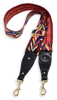 VALENTINO GARAVANI Native Couture Embroidered Guitar Handbag Strap