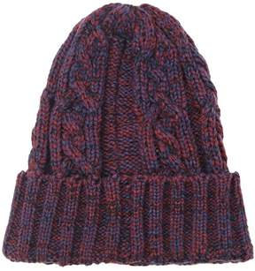 Forever 21 Two-Tone Fold-Over Beanie