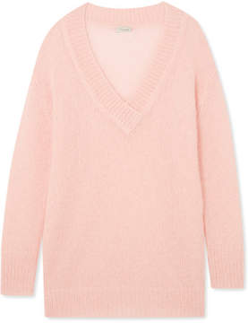 Temperley London Iron Mohair-blend Sweater - Baby pink