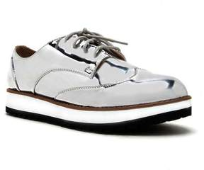 Qupid Newbie Lug Sole Lace-Up Oxford