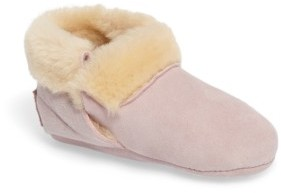 UGG Infant Girl's Solvi Genuine Shearling Low Cuffed Bootie