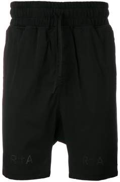 RtA tie waist shorts