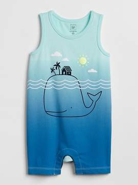 Gap Graphic Tank Shorty One-Piece