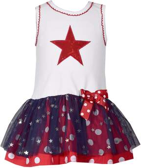 Bonnie Jean Baby Girl Star Tulle Dress