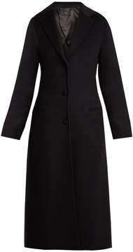 Joseph Archi wool and silk-blend coat