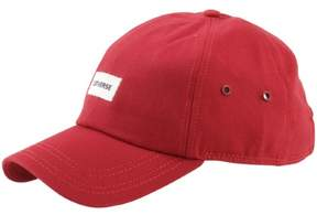 Converse Charles Dad Strapback Red Baseball Cap Hat (One Size Fits Most)