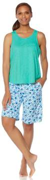Karen Neuburger KN Cool by Summer Breeze Tank/Bermuda Pajama Set