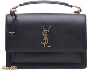Saint Laurent Large Sunset leather shoulder bag