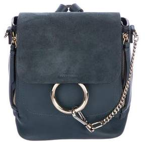 Chloé Leather Faye Backpack