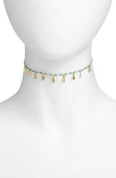 Argentovivo Women's Link Choker Necklace