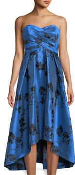 Shoshanna Dawn Strapless Cocktail Dress