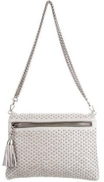 Rebecca Minkoff Studded Leather Bag - GREY - STYLE