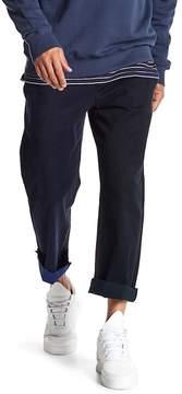 Barney Cools Chodus Multicolor Frayed Hem Boxy Fit Chino Pants