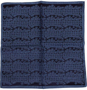 One Kings Lane Vintage Louis Vuitton Silk Print Pocket Scarf - Vintage Lux