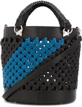 Sonia Rykiel woven leather shoulder bag
