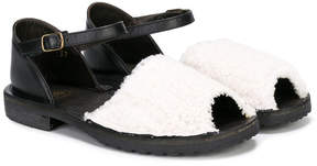 Pépé contrast sandals