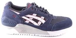 Asics Men's Blue Suede Sneakers.