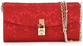 Dolce & Gabbana 'Dolce' clutch - RED - STYLE