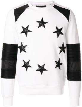 Philipp Plein star patch sweatshirt