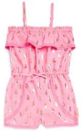 Juicy Couture Baby Girl's Pineapple Romper