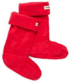 Hunter Girl's Rollover-Cuff Boot Socks