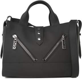 Kenzo Kalifornia Medium Rubberized-leather Shoulder Bag