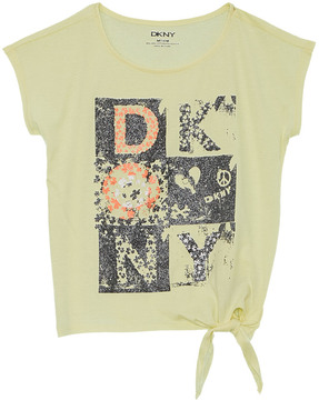 DKNY Girls' Bouquet T-Shirt