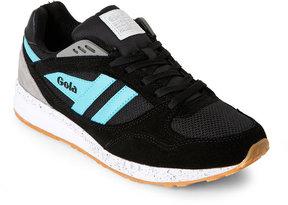 Gola Black & Mint Shinai Sneakers