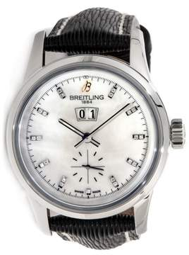 Breitling Transocean 38 A1631012/A765 Stainless Steel Watch