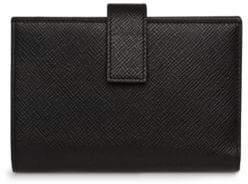 Smythson Panama Continental Leather Purse