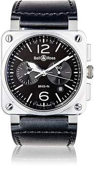 Bell & Ross Men's BR 03-94 Steel Watch