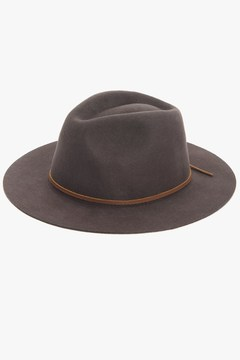 7 For All Mankind The Wesley Fedora In Chocolate